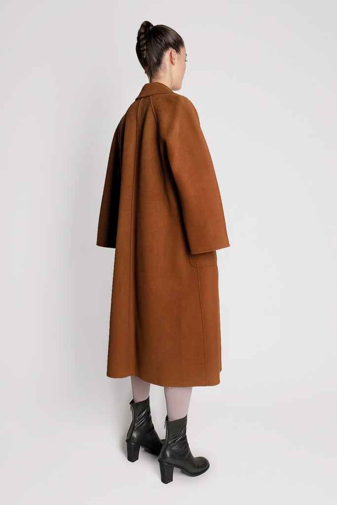 Oversized Belted Wool Coat