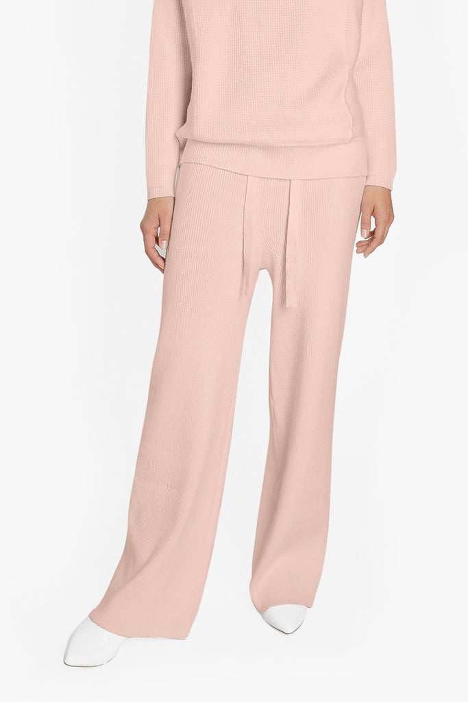 Cashmere Leisure Pants in Pink