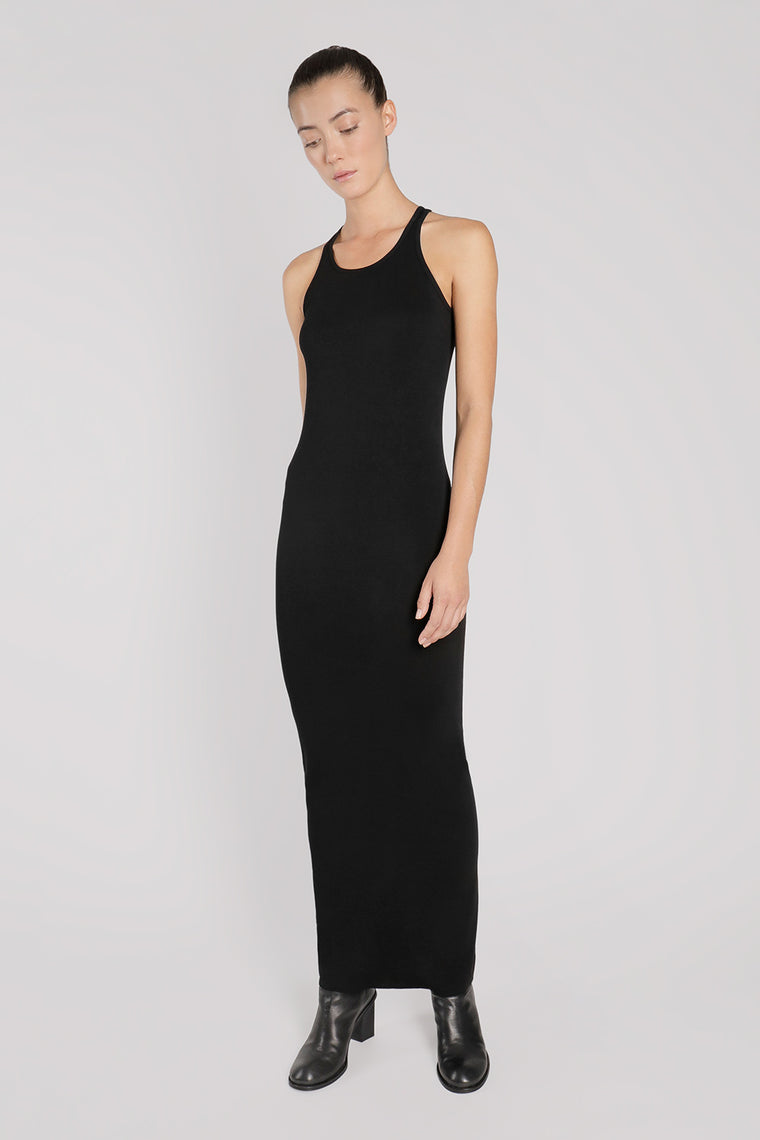 Cotton Spandex Maxi Dress