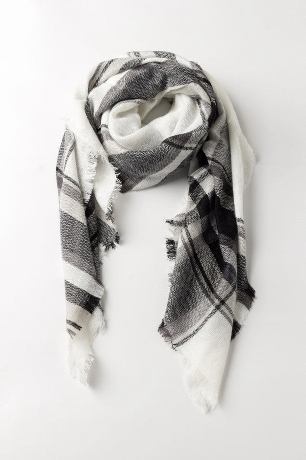 Tartan Plaid Long Scarf