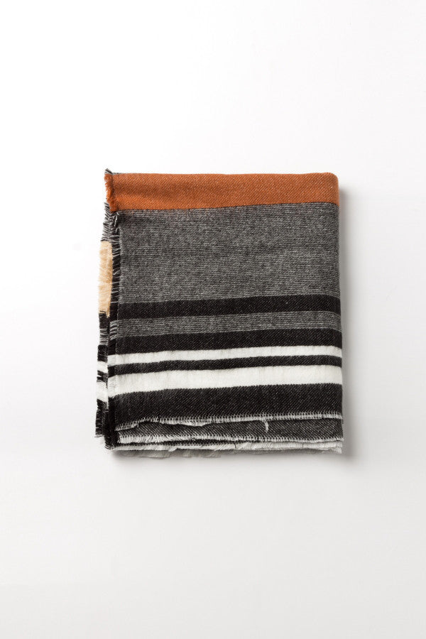 Striped Large Stole