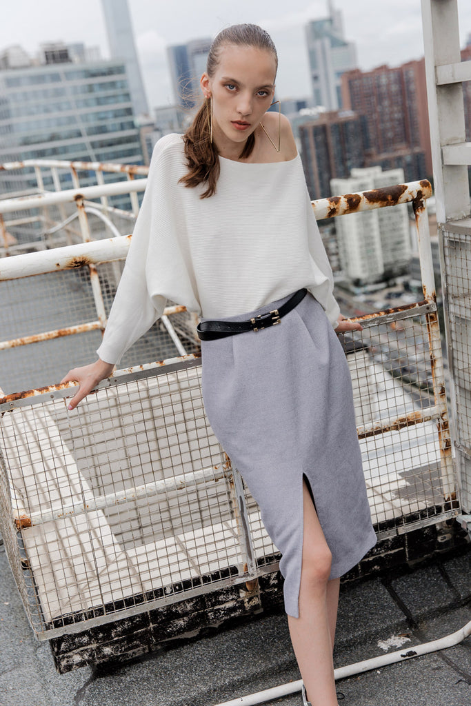 Pencil Slit Skirt