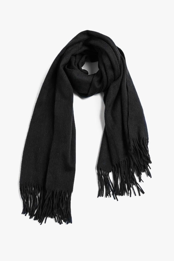 Large Wool Cashmere Scarf