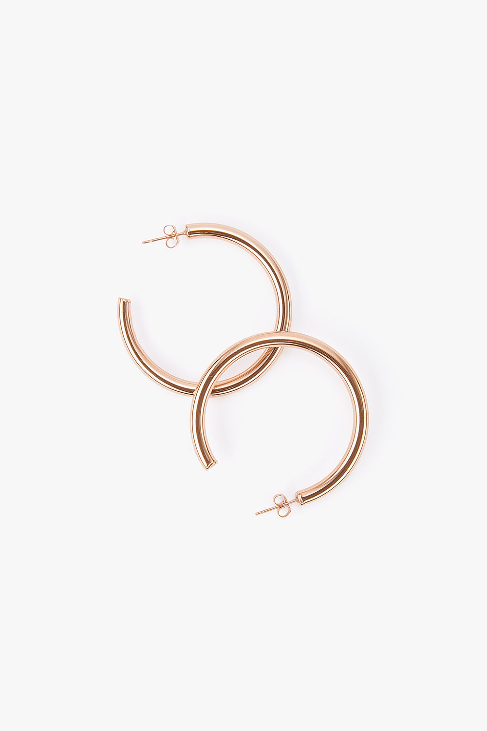 Large Titanium Hoop Earrings