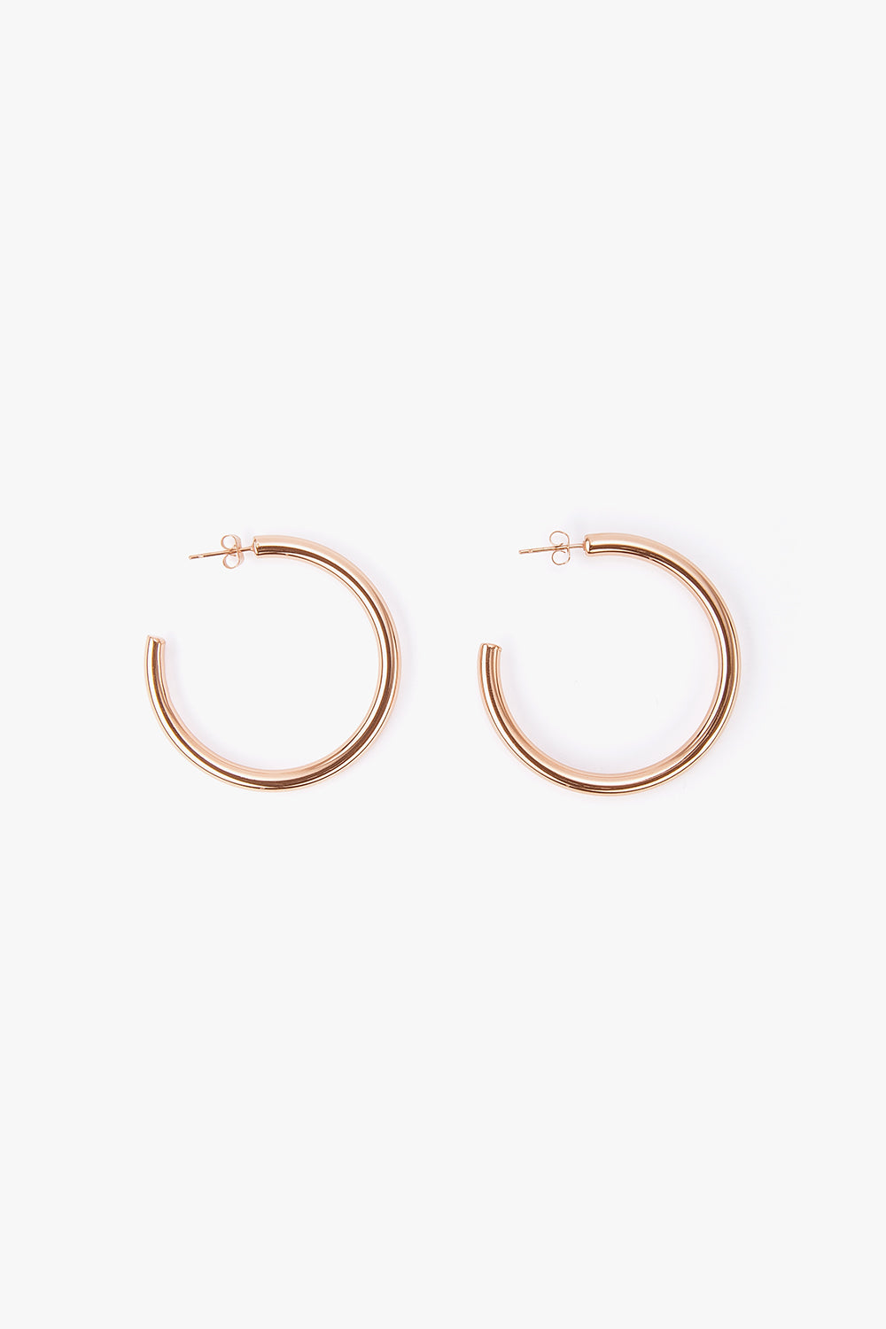 Small Titanium Hoop Earrings