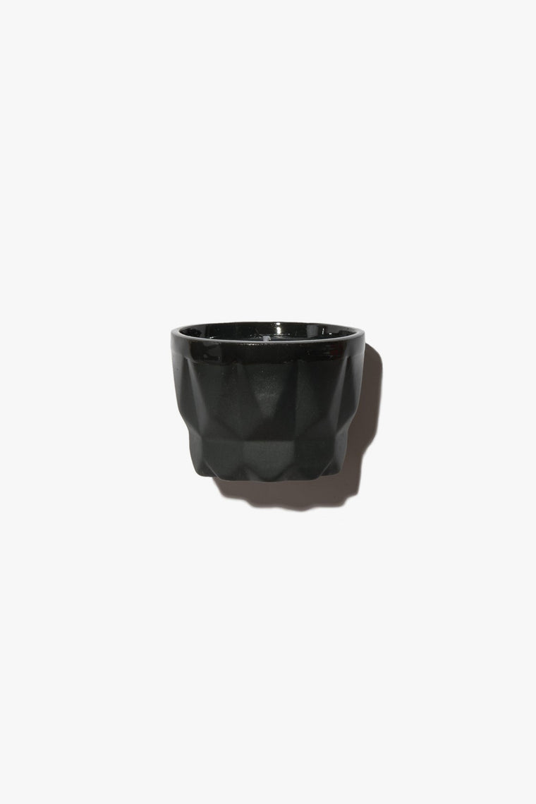 Black Porcelain Candle | Charcoal