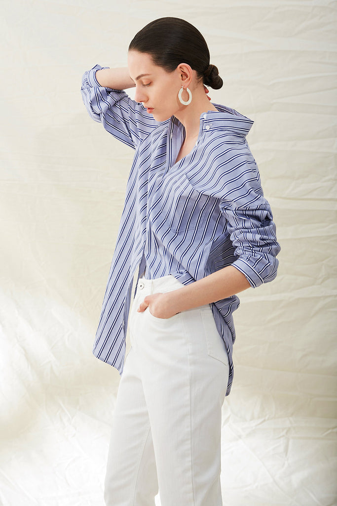 Oversized Button Down Oxford Shirt