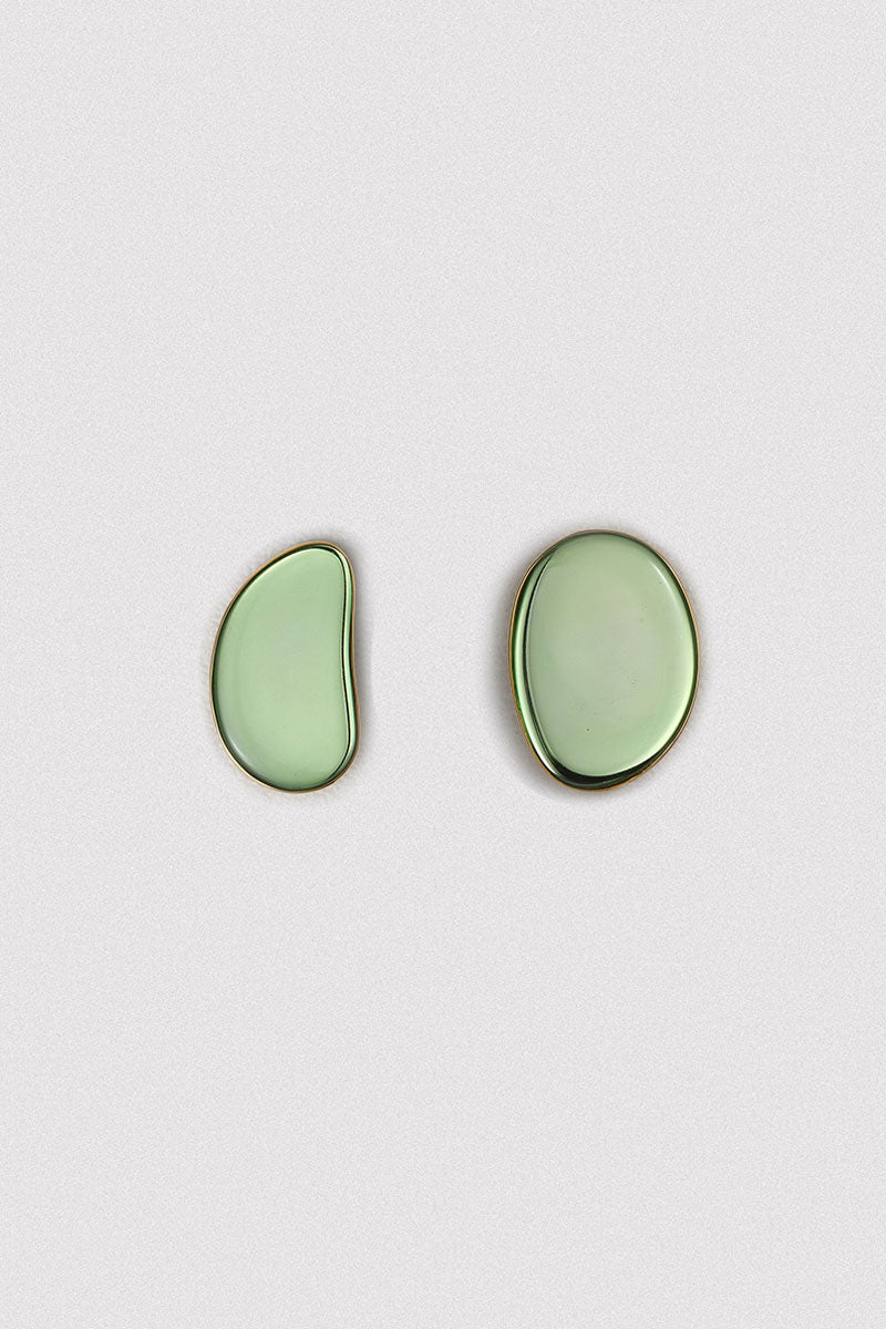 Asymmetrical Mirror Earrings
