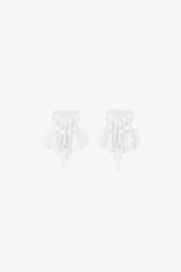 Acrylic Fringe Earrings