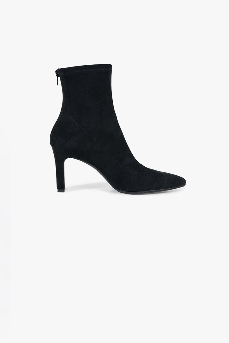 Square Heel Suede Boots