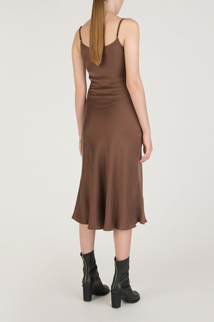 Slip on Silk Dress