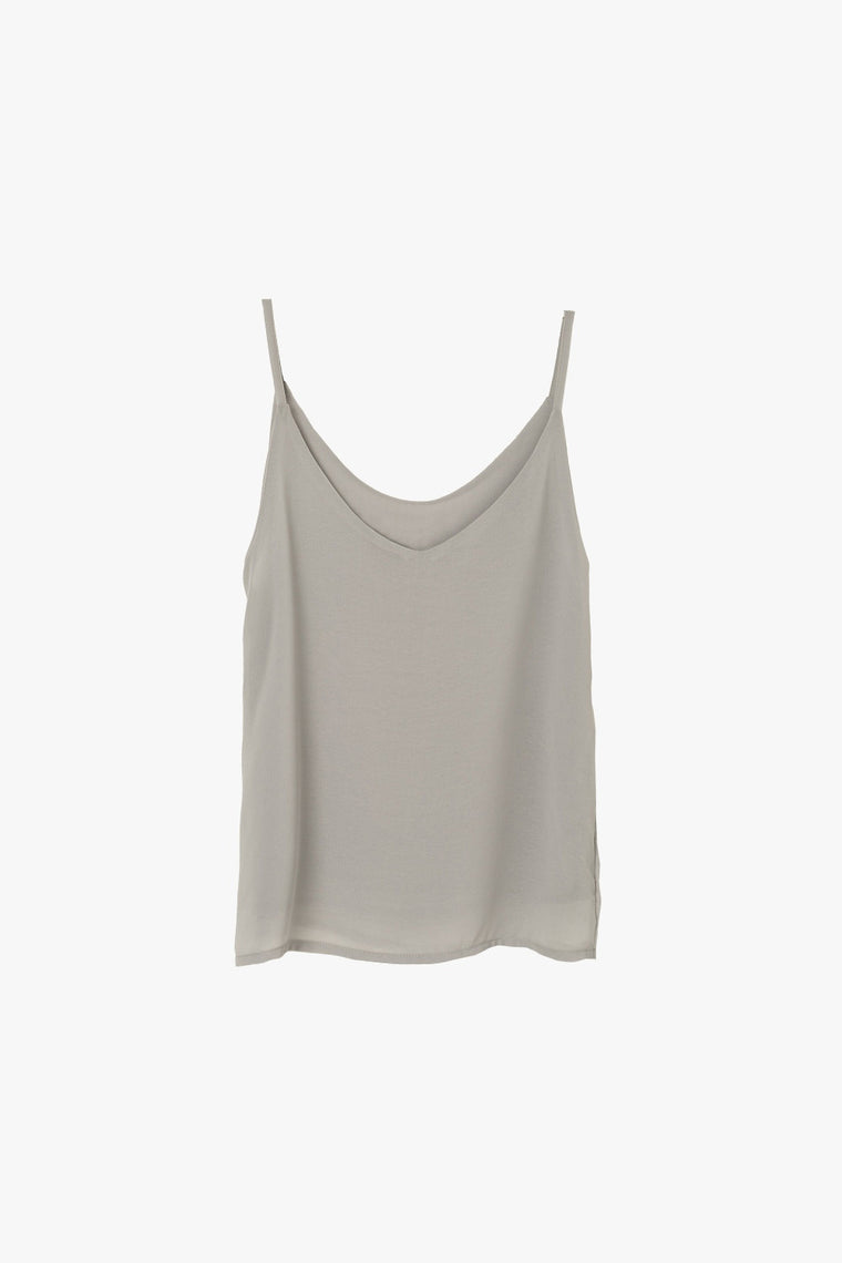 Layered Chiffon Sleeveless Top