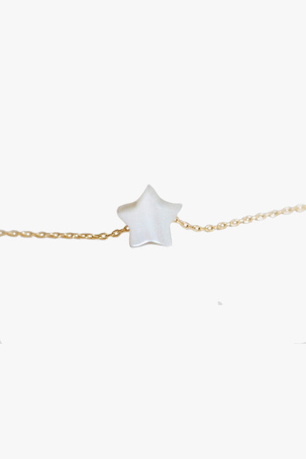 Mini Star Water Pearl Necklace
