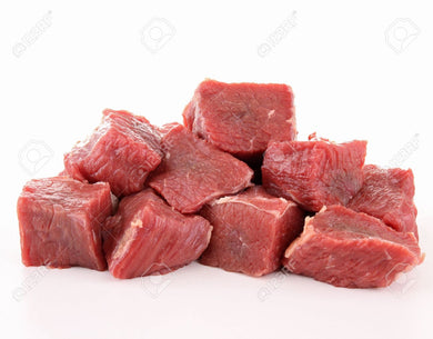 Beef Cubes - 2 lbs. - Grateful Produce Box