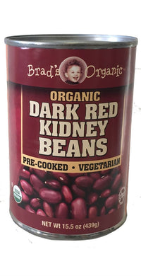 Organic Kidney Beans (Brad's) - Grateful Produce Box