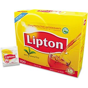Lipton Tea - 100 Pack - Grateful Produce Box