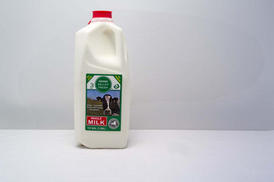 Premium Fresh Hudson Valley Milk - Whole Milk - 1/2 Gallon - Grateful Produce Box