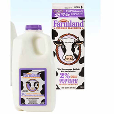 Organic 2% Milk - 1/2 Gallon - Grateful Produce Box