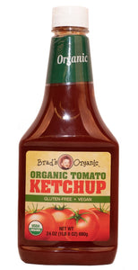 Organic Ketchup (Brad's) - 24 oz - Grateful Produce Box