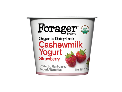 Forager's Strawberry Cashewgurt - 5.3 oz - Grateful Produce Box