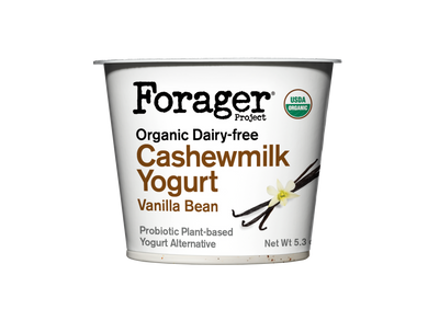 Forager's Vanilla Cashewgurt - 5.3 oz - Grateful Produce Box