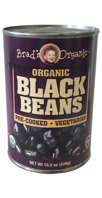 Organic Black Beans (Brad's) - Grateful Produce Box