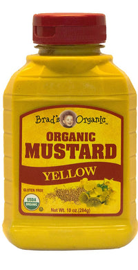 Organic Yellow Mustard (Brad's) - 10 oz - Grateful Produce Box