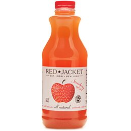 Red Jacket - Apple Strawberry Juice - 12 oz. Bottle - Grateful Produce Box