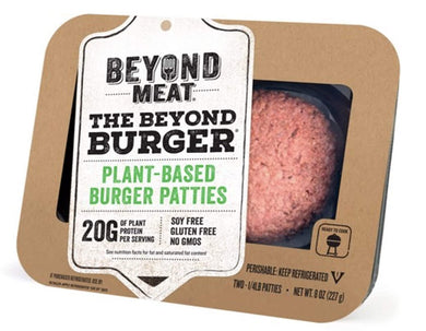 Beyond Meat Plant Based Burgers - 8oz - Grateful Produce Box