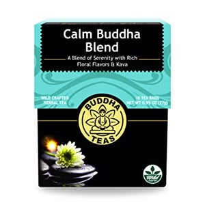Buddha Tea - Calm Buddha Blend (18 Tea Bags) - Grateful Produce Box