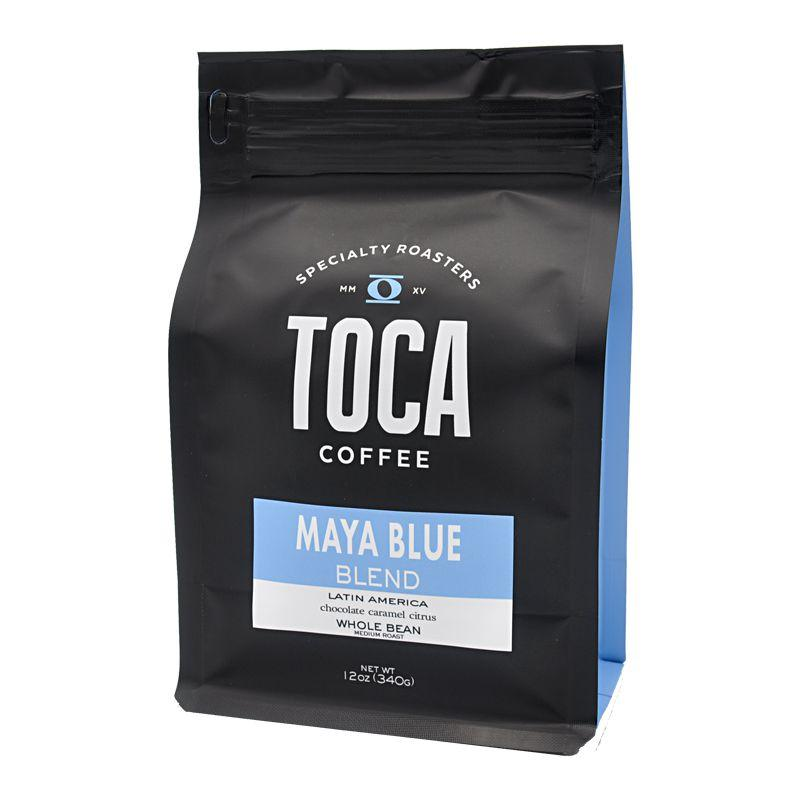 Toca - Ground Bean Coffee (Maya Blue) - 12 oz - Grateful Produce Box