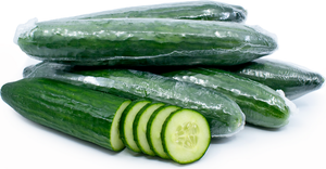 Organic Hot House Cucumber - 1 each - Grateful Produce Box