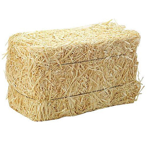 Hay Bale - 1 Each - Grateful Produce Box