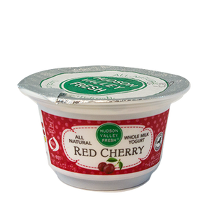 Premium Fresh Hudson Valley Red Cherry Yogurt - 6 oz. - Grateful Produce Box