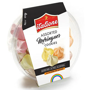 Italione Assorted Meringues - 4 oz - Grateful Produce Box