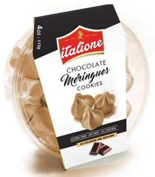 Italione Chocolate Meringues - 4 oz - Grateful Produce Box