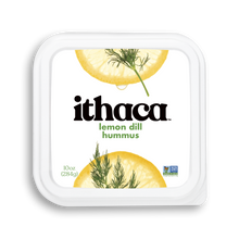 Load image into Gallery viewer, Ithaca Hummus - Lemon Dill - 10 oz. - Grateful Produce Box
