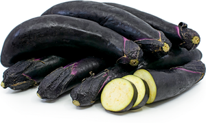 Japanese Eggplant - 1 lb. - Grateful Produce Box