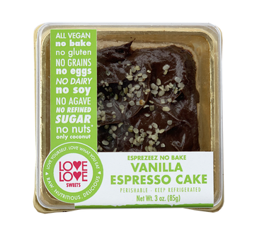 Love Love Sweets Vanilla Esprezeez Cake (Mini) - Grateful Produce Box