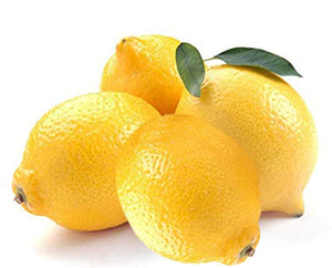 Organic Lemons - Pack of 4 - Grateful Produce Box