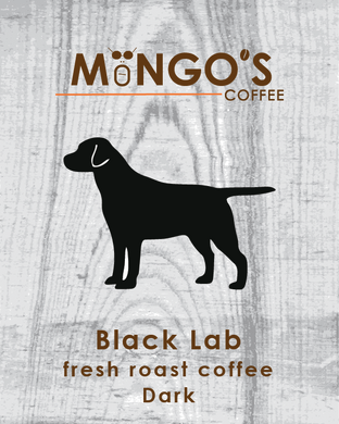 Mongo's Coffee Black Lab Dark Roast (Ground) - 12 oz - Grateful Produce Box