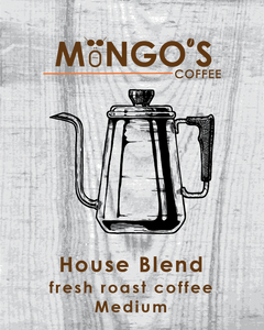 Mongo's Coffee House Blend Medium Roast (Ground) - 12 oz - Grateful Produce Box