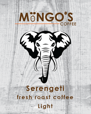 Mongo's Coffee Serengeti Light Roast (Ground) - 12 oz - Grateful Produce Box