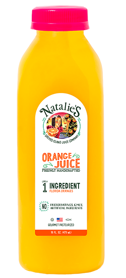 Natalie's Orange Juice - 8 oz. Bottle - Grateful Produce Box