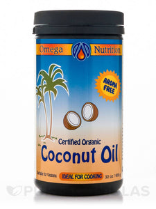 Coconut Oil - Omega Nutrition - 32 oz. - Grateful Produce Box