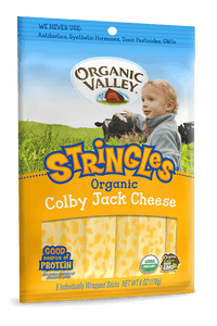 Organic Valley Stringles Colby Jack - 6 oz - Grateful Produce Box