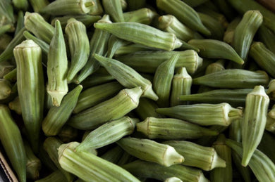 Okra 15 oz. - Grateful Produce Box