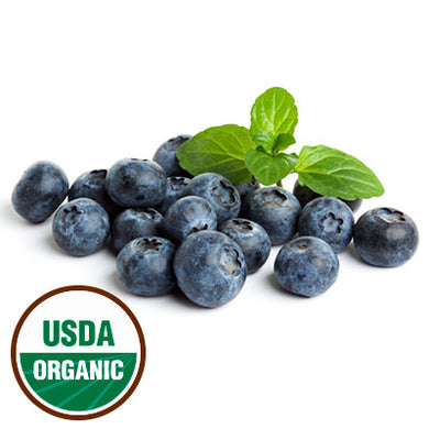 Organic Blueberries - 1/2 Pint - Grateful Produce Box