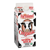 Organic Whole Milk - 1/2 Gallon - Grateful Produce Box