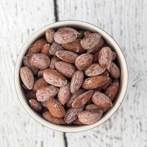 Roasted and Salted Almonds - 9 oz - Grateful Produce Box
